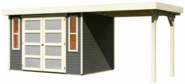 Karibu Gartenhaus »Mühlendorf 4«, BxT: 554x238 cm, (Set)